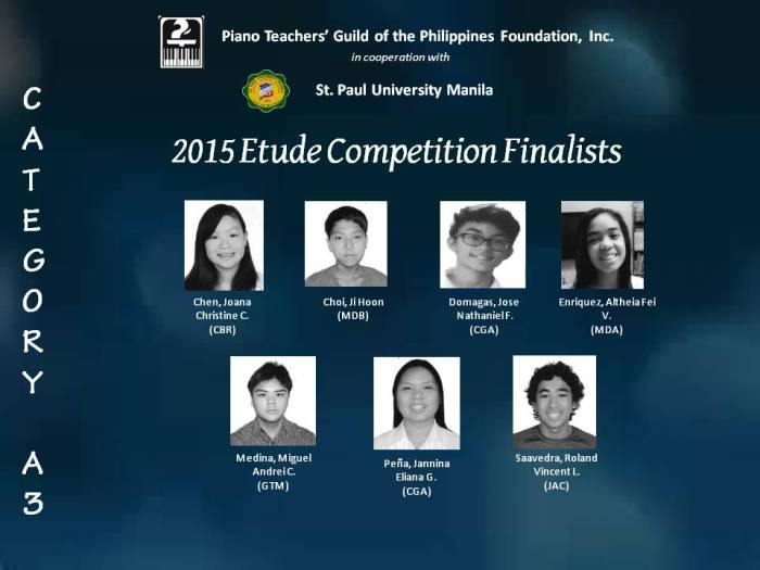 CatA3 Finalists