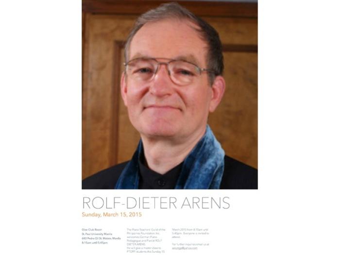 Rolf-Dieter Arens Master Class